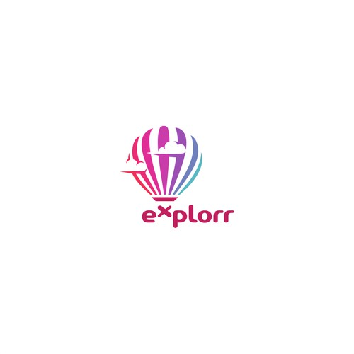 Concept for Explorr Logo Project.