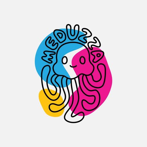 Illustrative logo for a kidswear