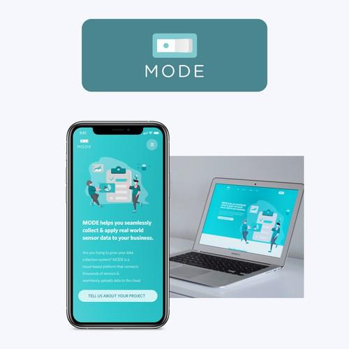 Landing Page Mode