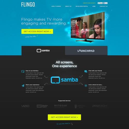 Flingo needs a new website design