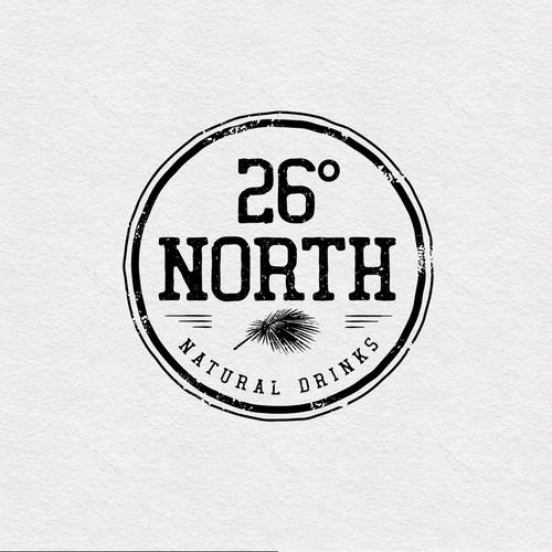 Logo design for natural drinks