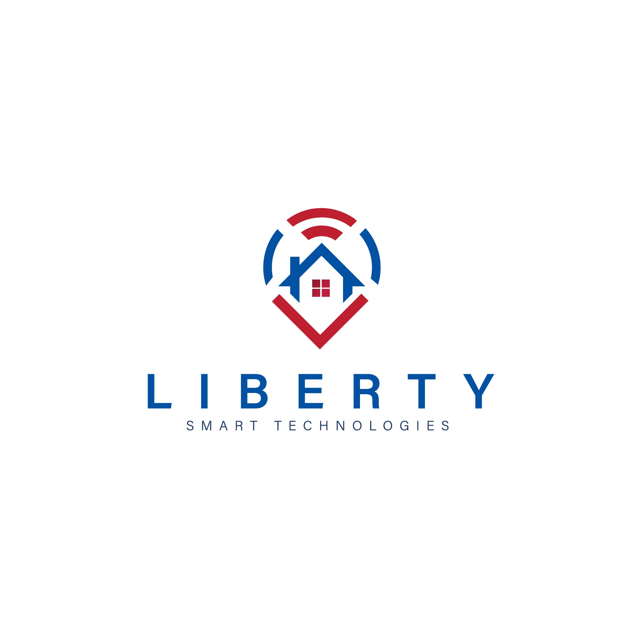 """Build a clean logo for a """"Smart Home"""" contractor"""