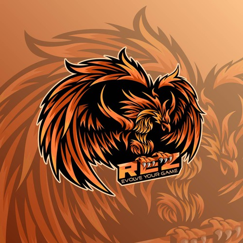 Phoenix logo for game