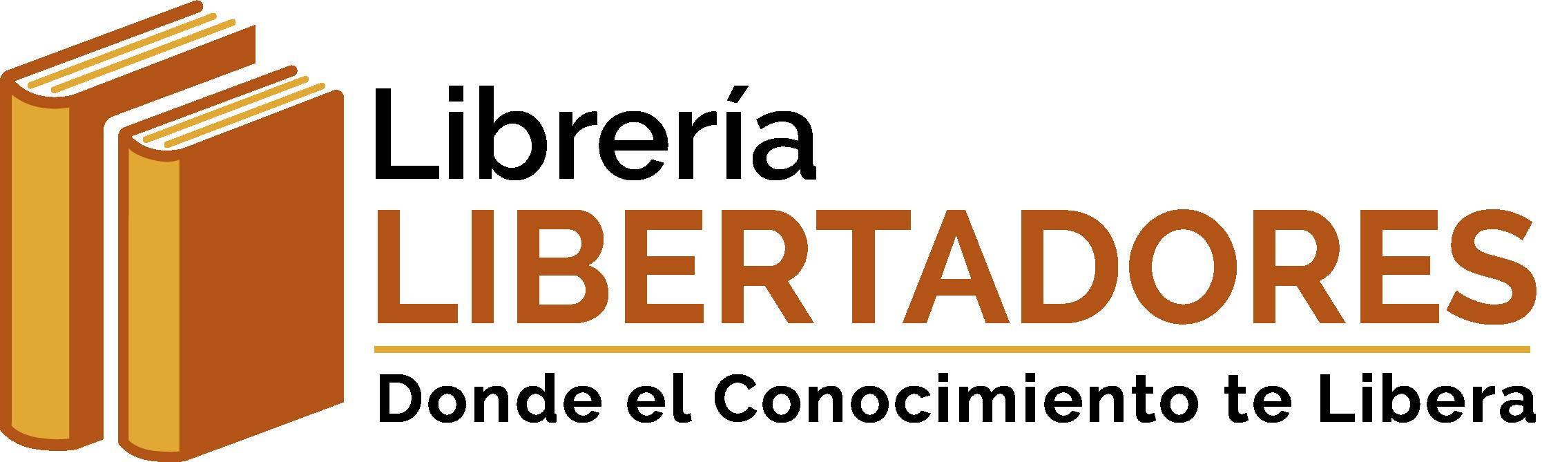 Design a smart and modern logo for bookstore Libreria Libertadores