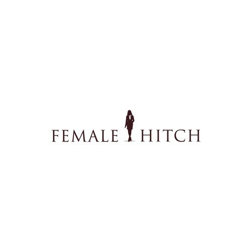 Simple logo for Female Hitch