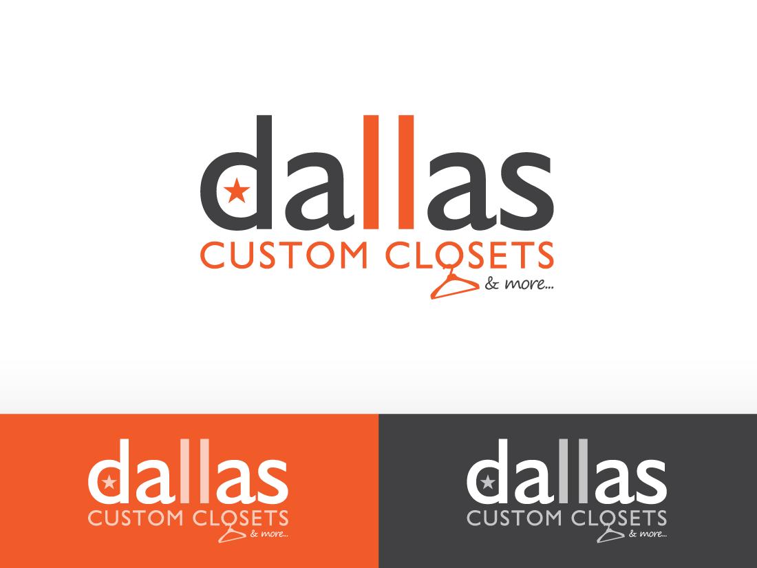 logo for dallas custom closets