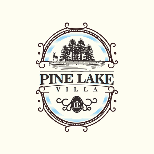 "Pine Lake Villa ""logo design"""