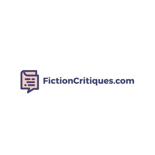 Making a logo concept for FictionCritiques.com