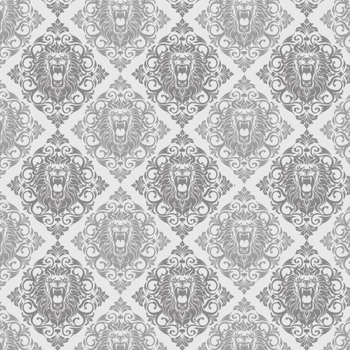 Head Damask Pattern