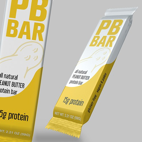 Clean design of Peanut protein bar