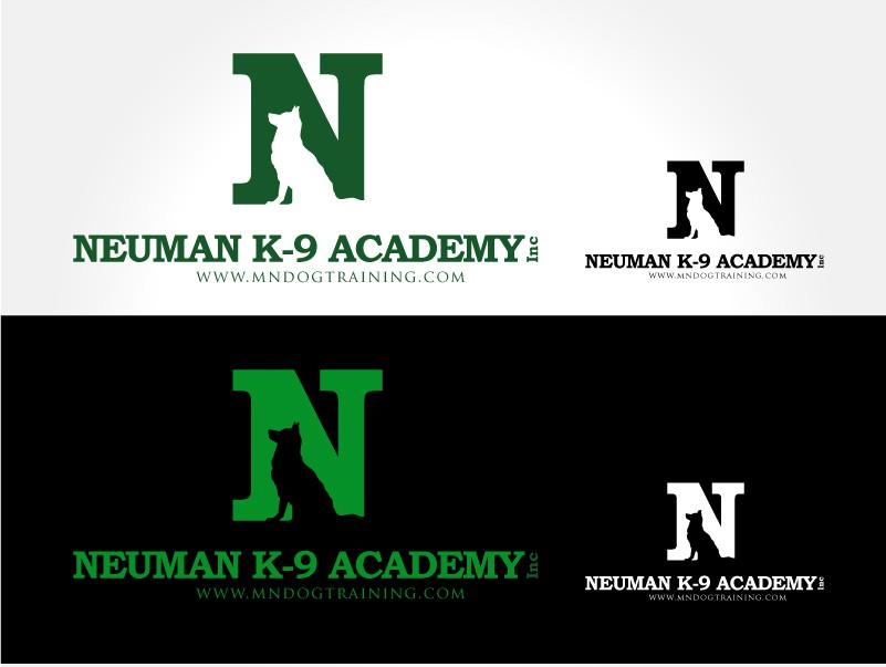 New logo dog training company.