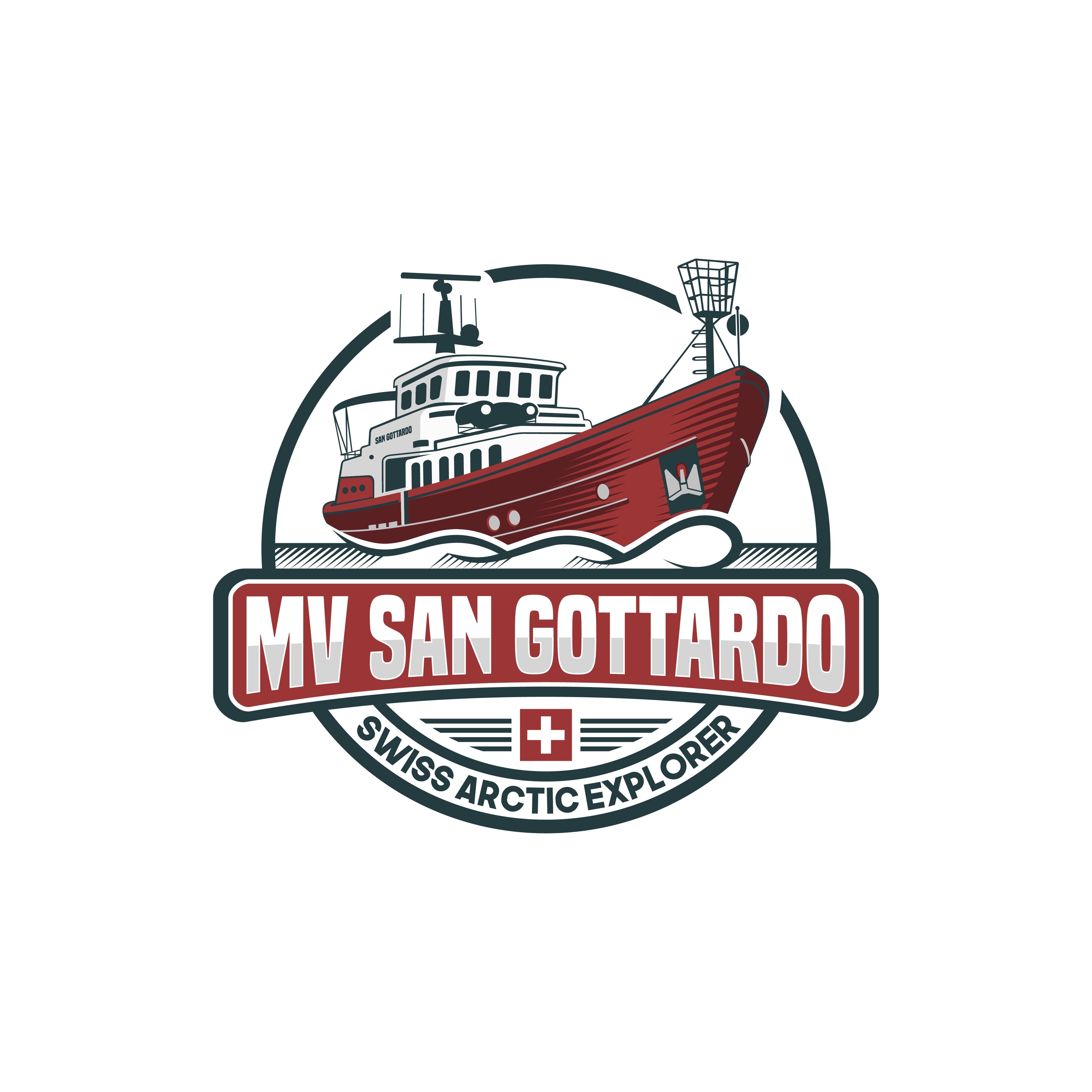 Erstelle ein Expeditionslogo für das Schiff SAN GOTTARDO