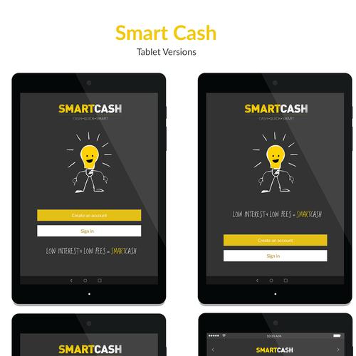 Responsive mobile app for specialist online lender