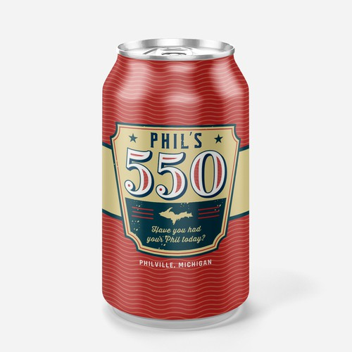 Beer label and can design