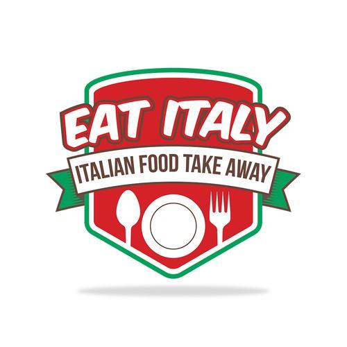 Logo design for an Italian take away restaurant