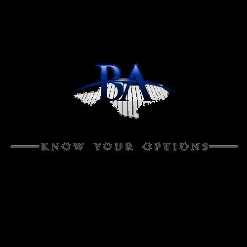 Elegant logo concept for BA