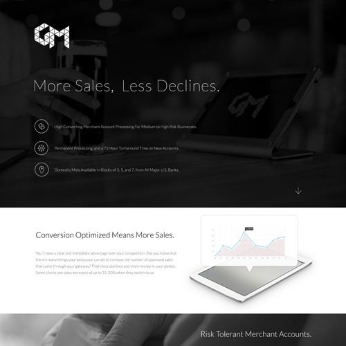 Help create an exceptional landing page for GetMids.com