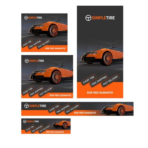 SimpleTire Banner Design