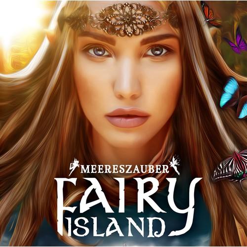 Fantasy Fairy Book Cover Design