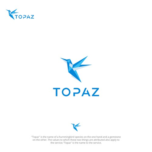 Gemstone Bold logo for TOPAZ