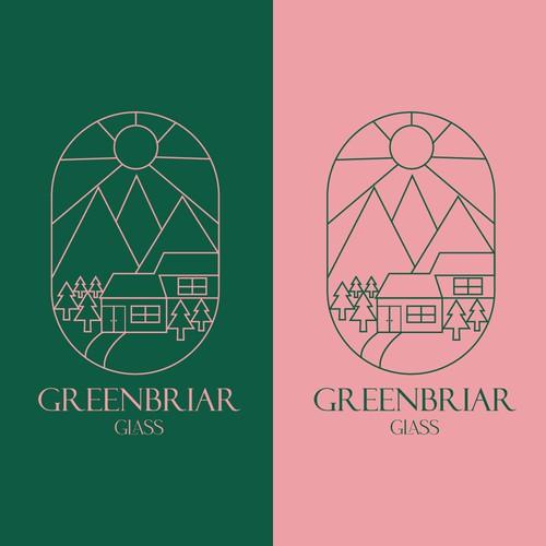 Logo Concept for Greenbriar Glass