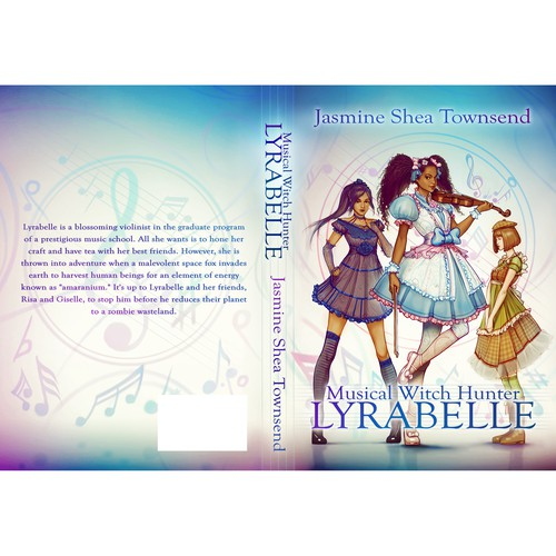 """""""Musical Witch Hunter Lyrabelle"""" book cover"""