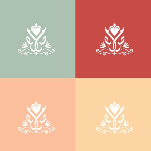 Arabic Wedding Logo