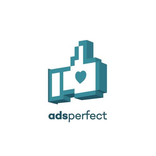 Ads Perfect Logo Design