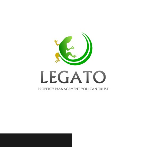 Logo for a property management company
