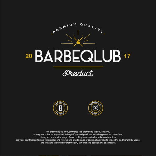 Looking for a beautiful logo for a BBQ brand