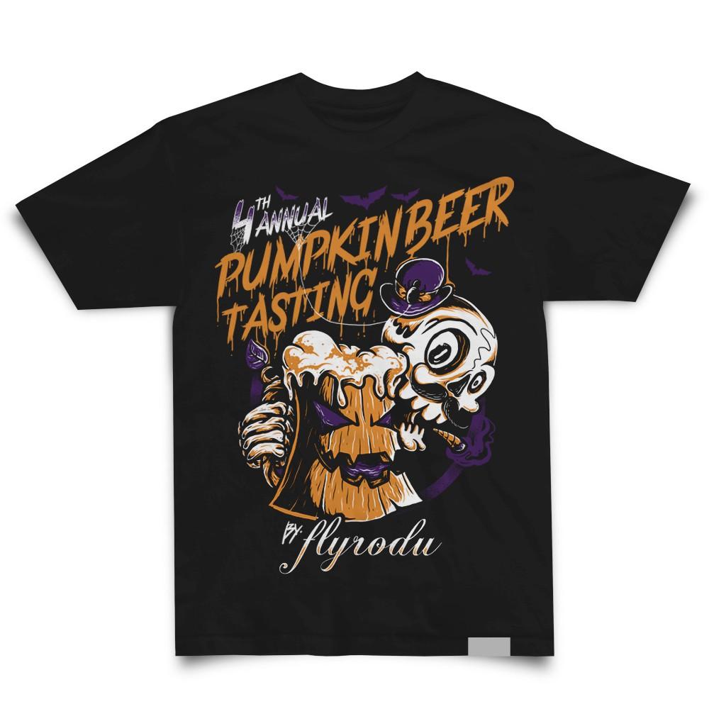 Pumpkin Beer Tasting Shirt Design