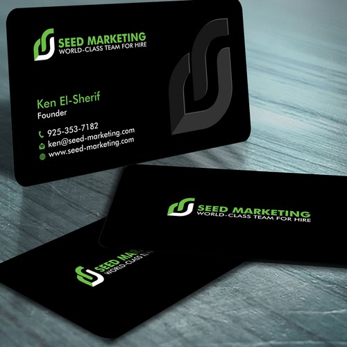 Seed Marketing Business Card