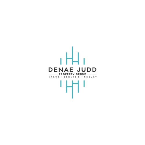 Luxury logo for a real estate team