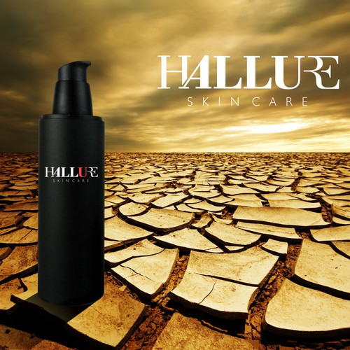 Design a chic logo for Hallure skincare