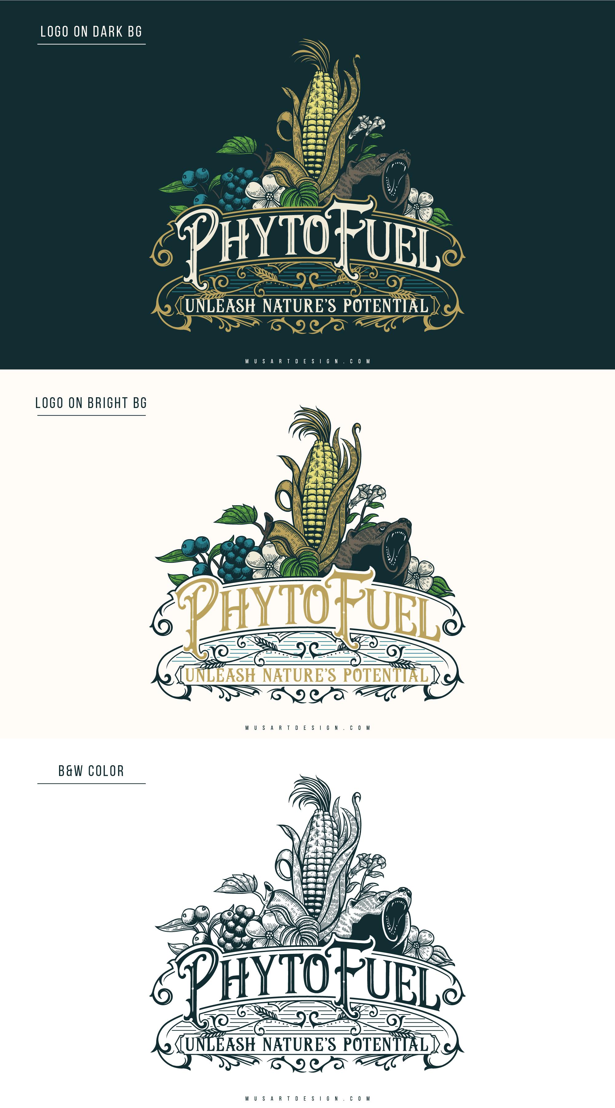 Phytofuel Logo design