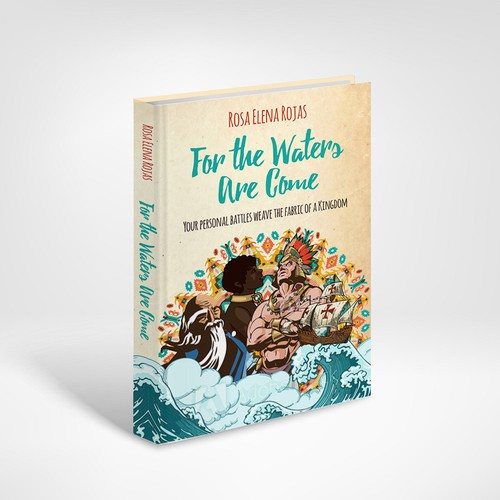 Book Cover for a book about Mexico history and flood