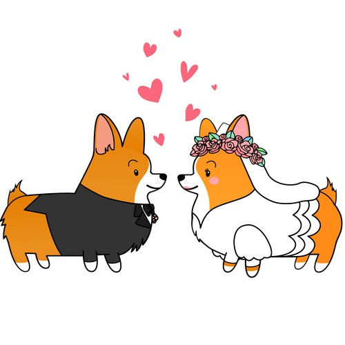 Corgi Dog Design
