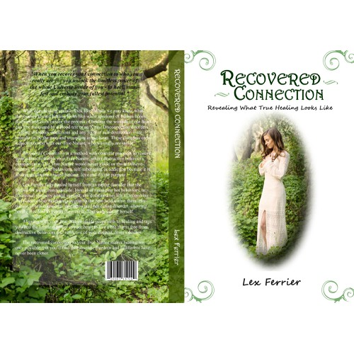Create a book cover for a personal story of self-realization, freedom and healing.