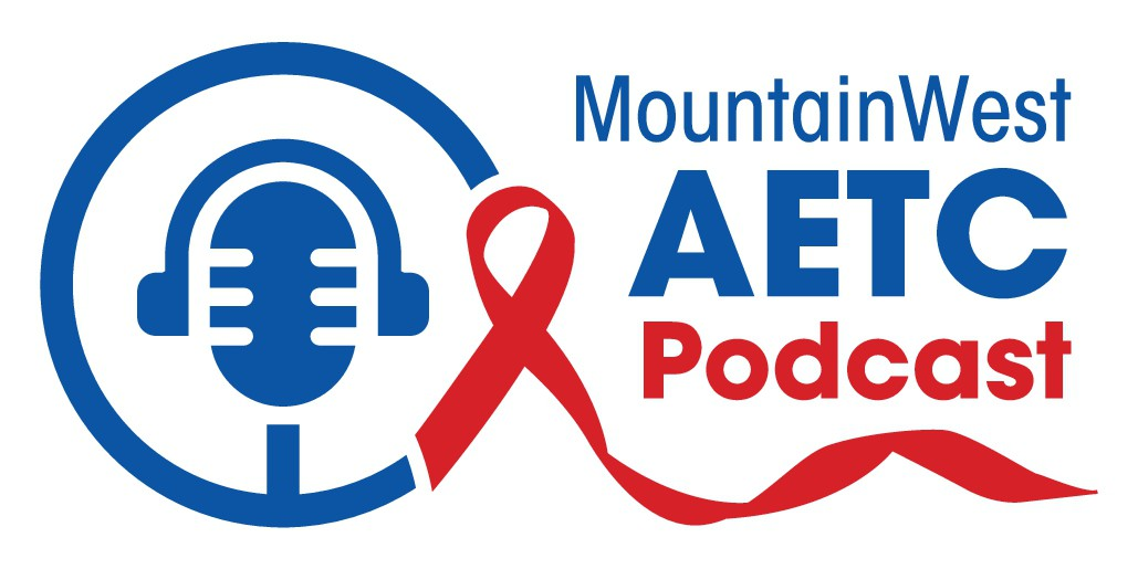Logo for new podcast series for providers treating and preventing HIV