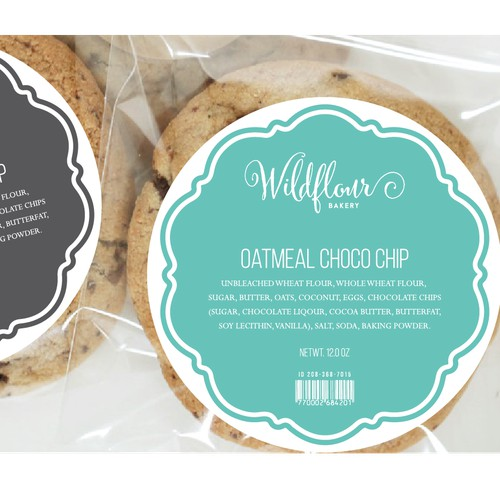 Hey I need your help!  Have amazing cookies but my current label stinks!