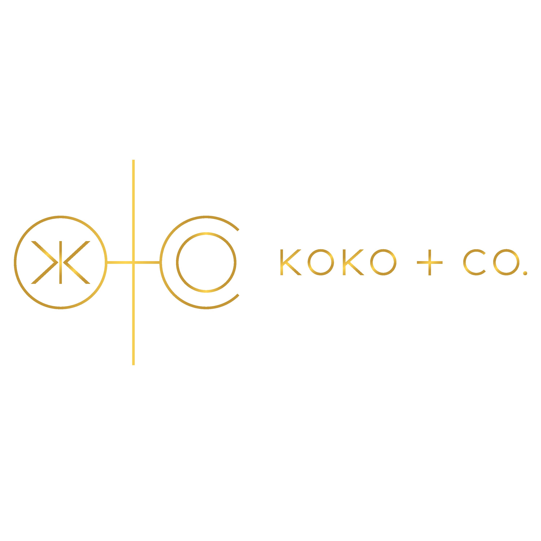 koko + co. business card