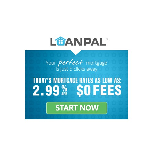 Design a creative banner ads for LoanPal