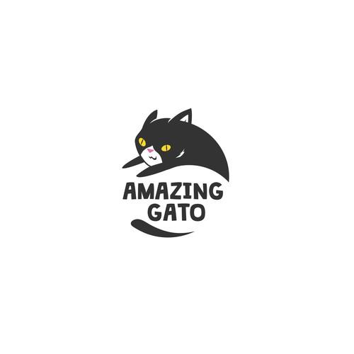 Cat logo designs