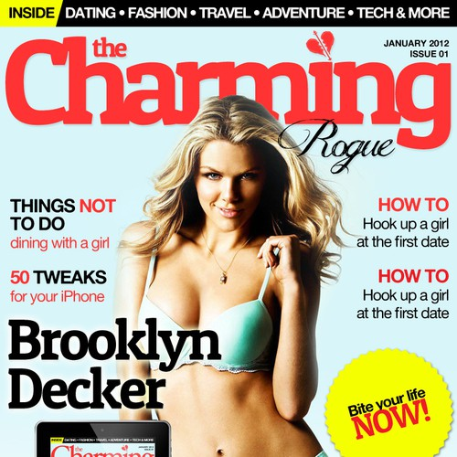 Help The Charming Rogue with a new magazine cover
