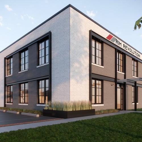 3D Design of Industrial Building