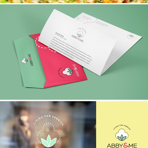 Logo and Branding Identity for a Fabric company