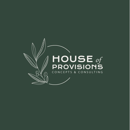 Logo design for House of Provision - Concept & Consulting