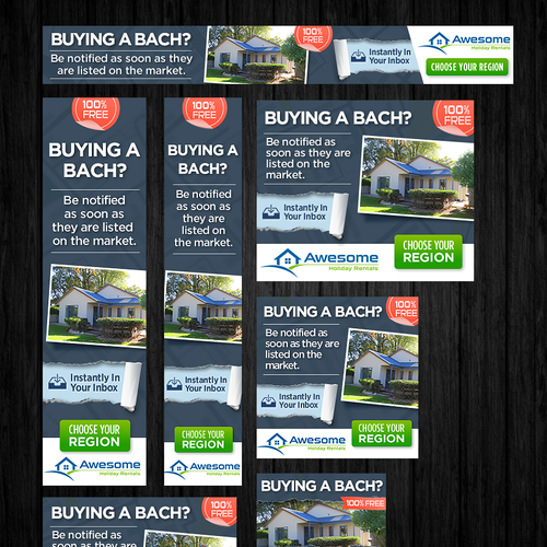 Banner Ad for Awesome Holiday Rentals
