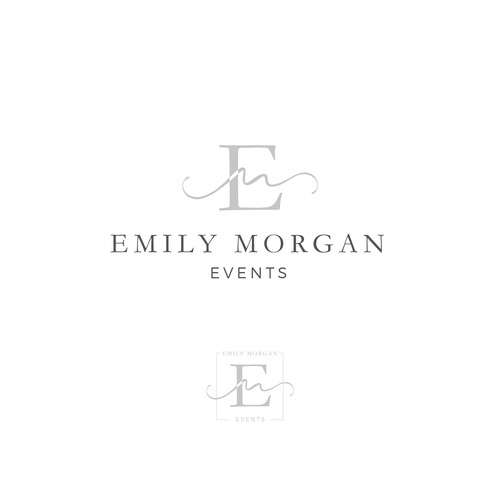 Logo design for a boutique wedding planning company.