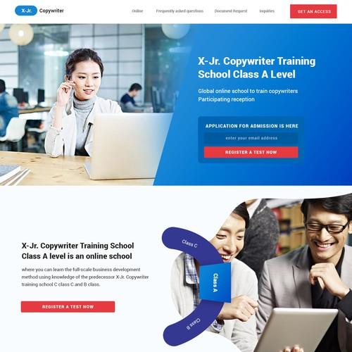 Copywriting school class online